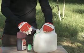 Cách pha xăng cho máy cắt cỏ đúng và tiện lợi nhất