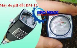 Cách sử dụng máy đo pH và độ ẩm đất DM15