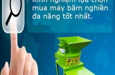 Kinh nghiệm sử dụng máy băm nghiền đa năng phục vụ chăn nuôi