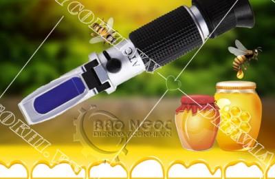 Thiết bị đo độ ngọt - công cụ tuyệt vời để kiểm tra thủy phần mật ong
