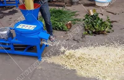 Ưu điểm và lợi ích khi sử dụng máy băm chuối cho vịt
