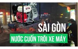 Máy bơm nước diesel - giải pháp cho những ngày lụt ở Sài Gòn