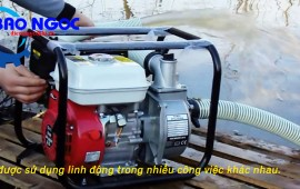 Máy bơm nước gia dụng và dòng máy bơm nước Oshima sử dụng trong gia đình