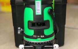 Giới thiệu máy cân bằng laser 5 tia xanh toshiba