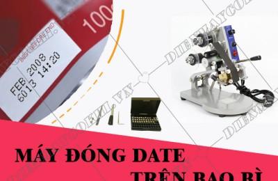 Máy đóng date in ngày sản xuất trên bao bì