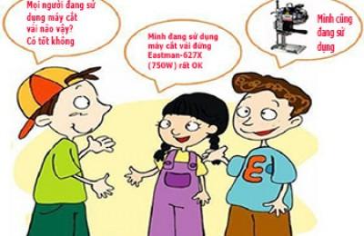 Giới thiệu máy cắt vải đứng EASTMAN-627X (750W) USA