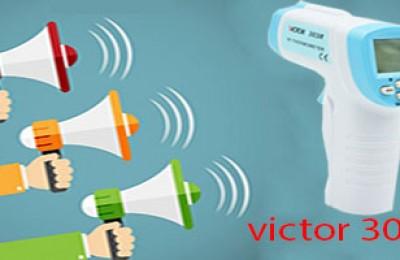 Review máy đo thân nhiệt cơ thể victor 302R