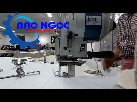 Sử dụng máy cắt vải đứng KM KSU-103 8 inch (750W)