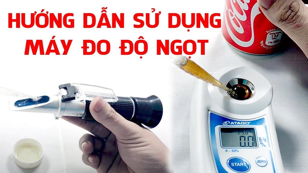 Bảo quản máy đo độ ngọt đúng cách