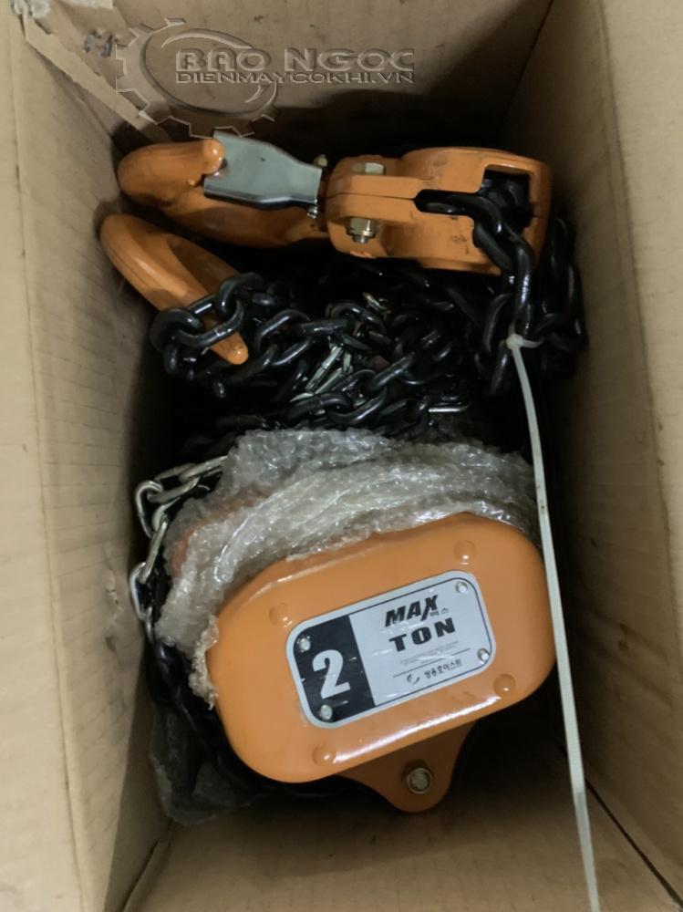 Palang xích kéo tay 2 tấn Max - Điện máy Bảo Ngọc