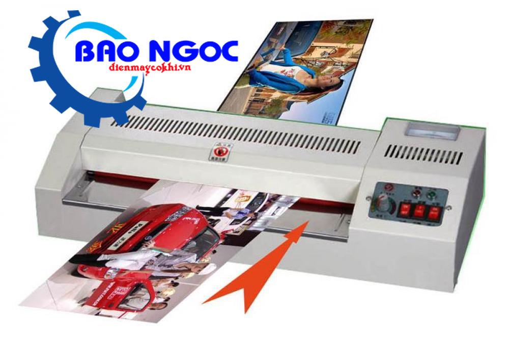 Máy ép Plastic Laminator YT-320 (RULO TRUNG BÌNH)