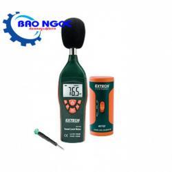 Máy đo âm thanh với bộ hiệu chuẩn Extech 407732-KIT