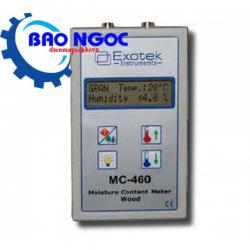 Máy đo độ ẩm mùn cưa, gổ dâm Exotek MC-460