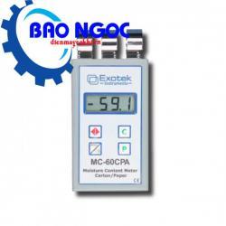 Máy đo độ ẩm giấy Exotek MC-60CPA