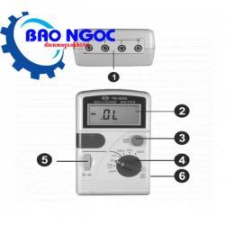 Đồng hồ đo vạn năng Tenmars TM-508A