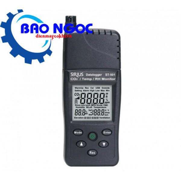 Máy đo khí CO2 nhiệt độ độ ẩm Tenmars ST-501