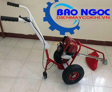 Máy cắt cỏ đẩy tay Mini 4 thì Trung Quốc