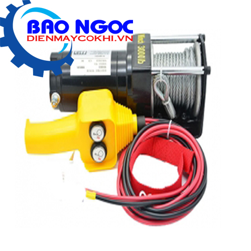 Tời điện kéo xe ATV 12000LBS -12V